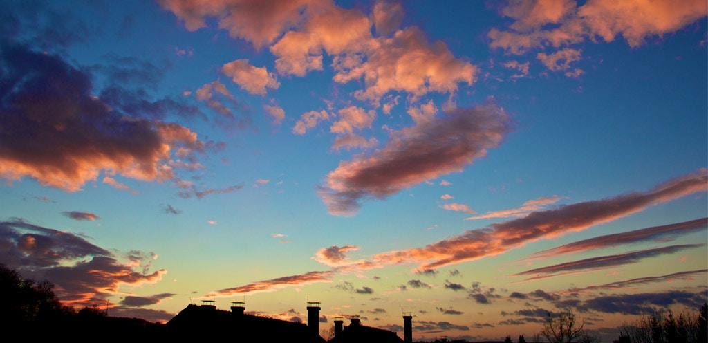 Abendhimmel. Foto: Andrea Jaeckel-Dobschat
