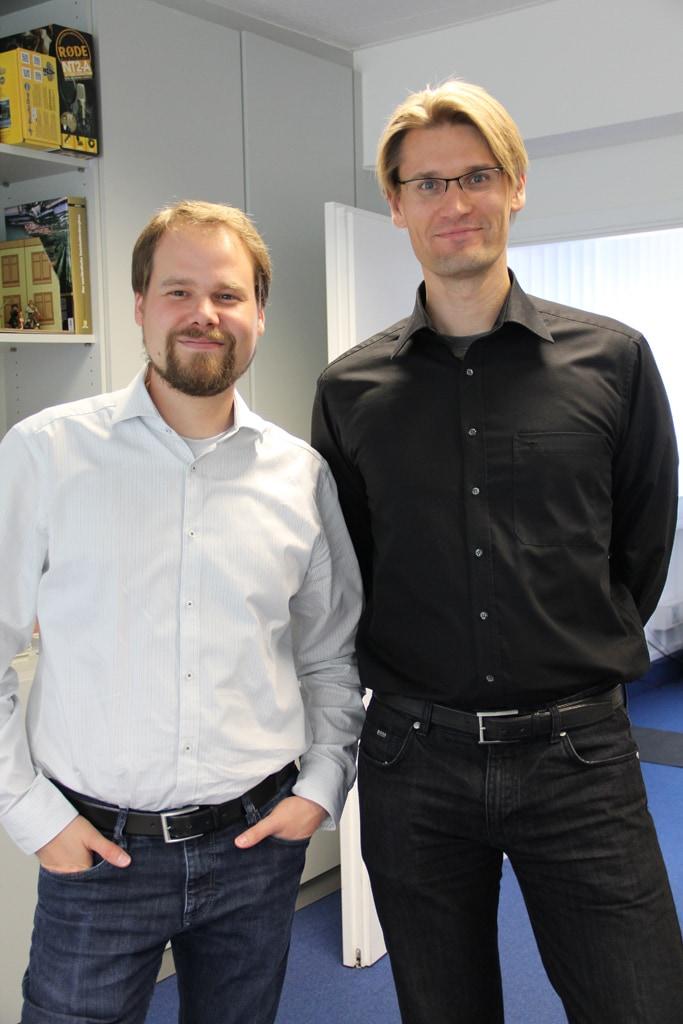 Michael Hilberer & Markus Hansen - Foto: Andrea Jaeckel-Dobschat- CC-BY-NC-SA.