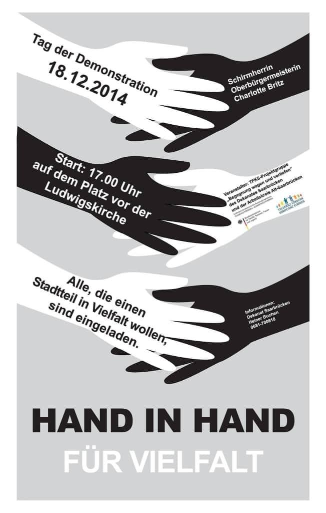 Hand in Hand für Vielfalt