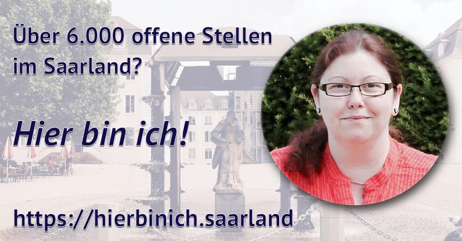 Hier bin ich, Saarland! Die etwas andere Kampagne...