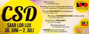 Kommt zum CSD SaarLorLux 2017