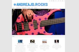 AndreaJD.Rocks – Photos, Music Business & Tour Life