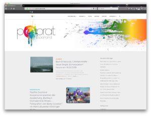 Neue Website für den PopRat-Saarland e. V.